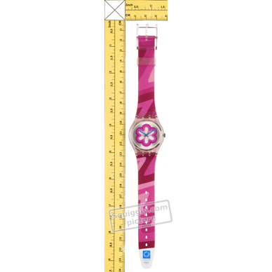 Swatch montre Rose