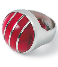 JRR0001-5 Color Cut Red Ring