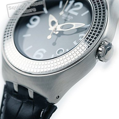 XL Steel Nabab Watch with Date Collection Automne-Hiver Swatch