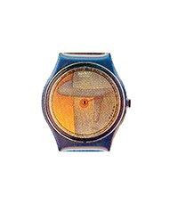 FOLONPIN1 Folon Swatch Pin Voir