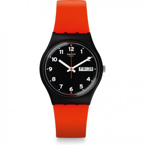 Swatch Red Grin montre
