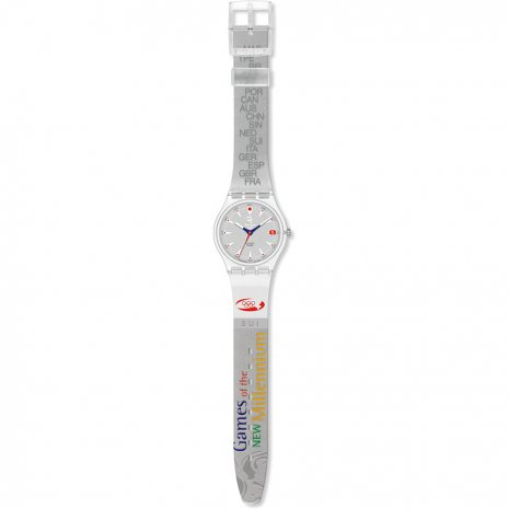 Swatch Run After Switzerland montre
