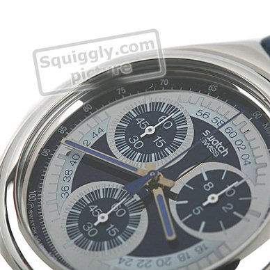 Swiss Made Steel Chronograph Collection Printemps-Eté Swatch