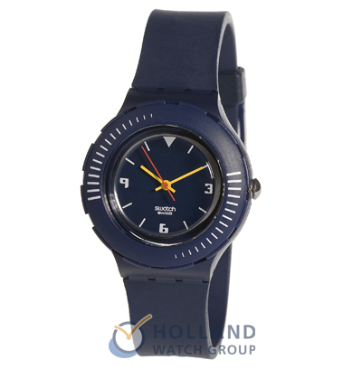 Dark Blue Resin Diving Watch Collection Automne-Hiver Swatch