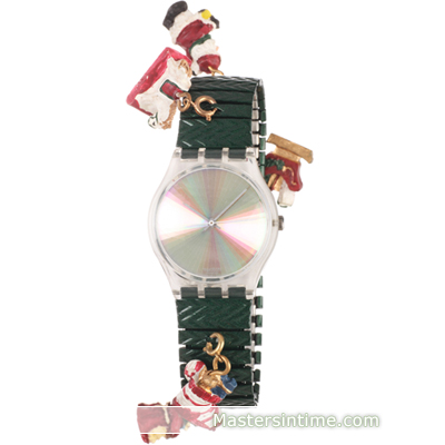 Swatch Time To Xmas montre