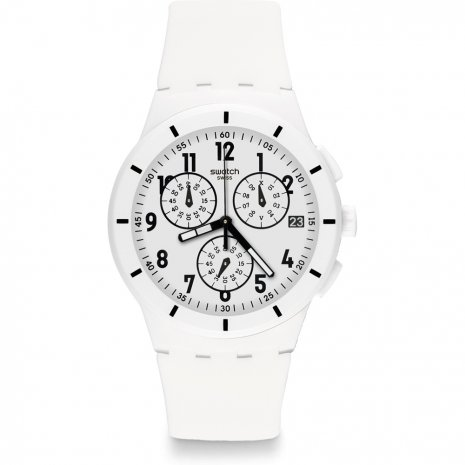 Swatch Twice Again White montre