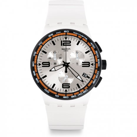 Swatch White Blades montre