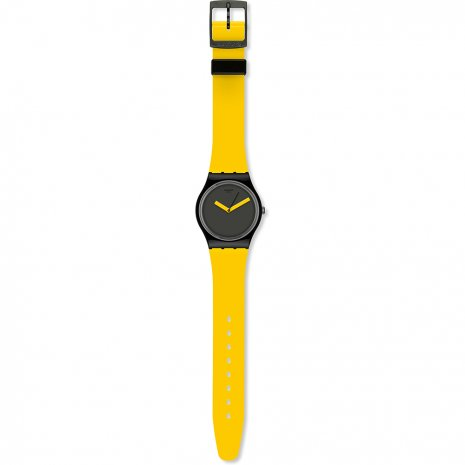 Swatch Yellow 'N Brown montre